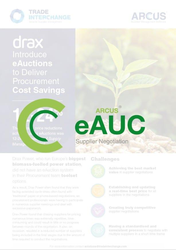 Drax Power eAUC Case Study