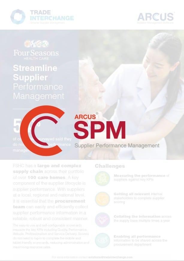 Four Seasons Health Care SPM Case Study
